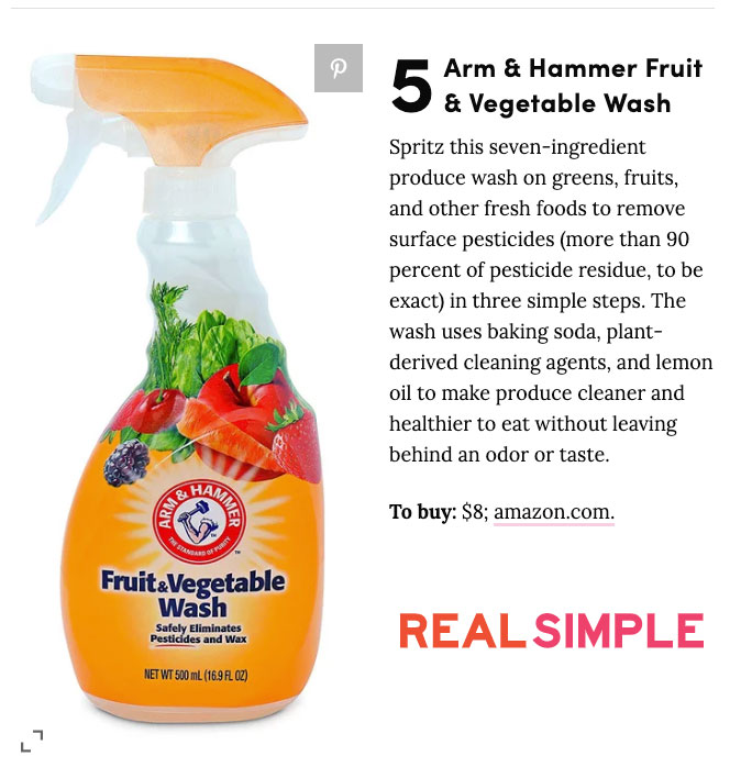 real simple clever items arm & Hammer