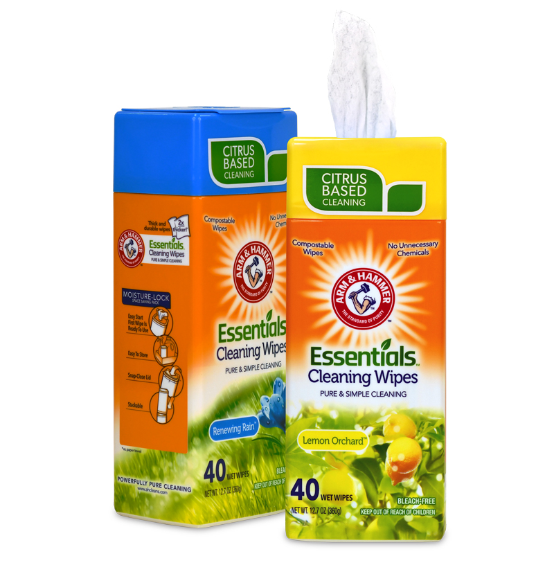 wipes arm & hammer