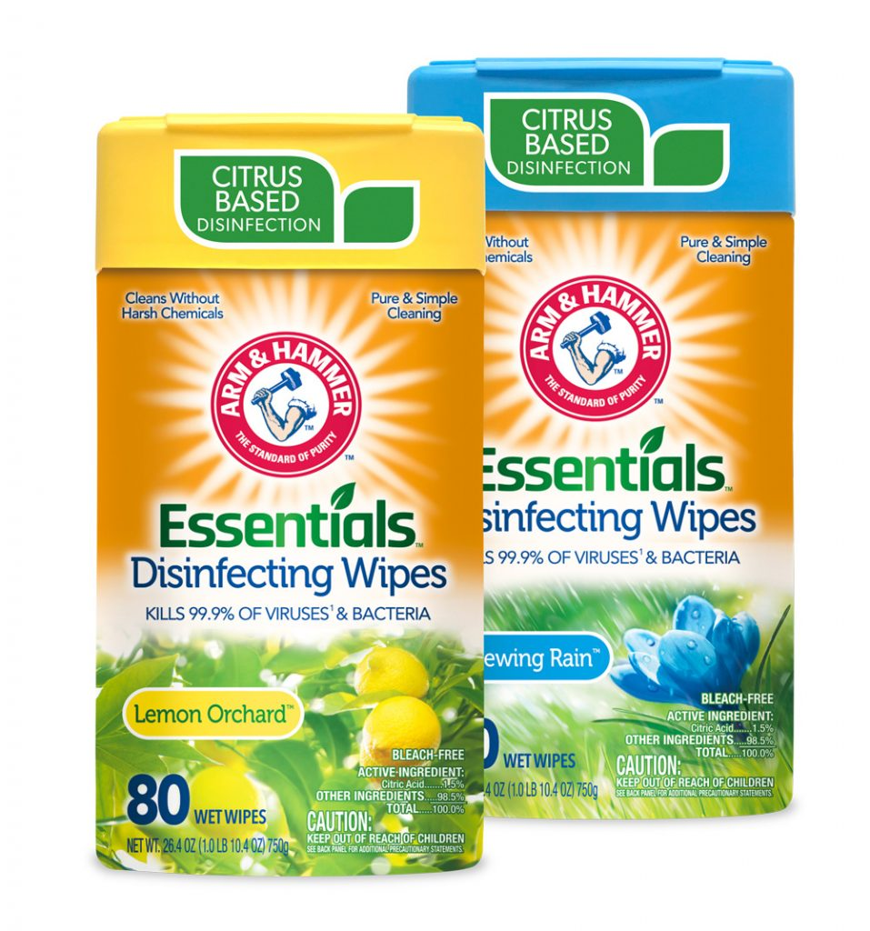 Arm & Hammer Essentials™ Disinfecting Wipes