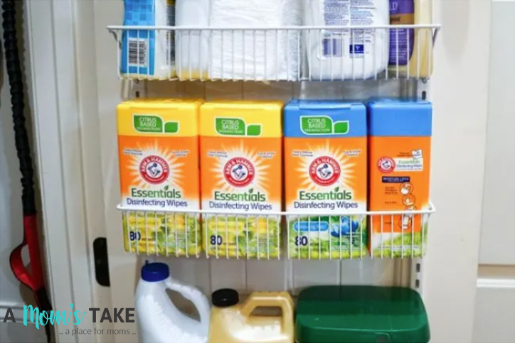 a mom's take arm & hammer wipes